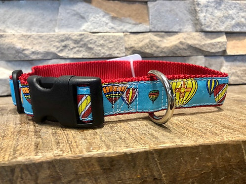 Hot Air Balloon Dog Collar
