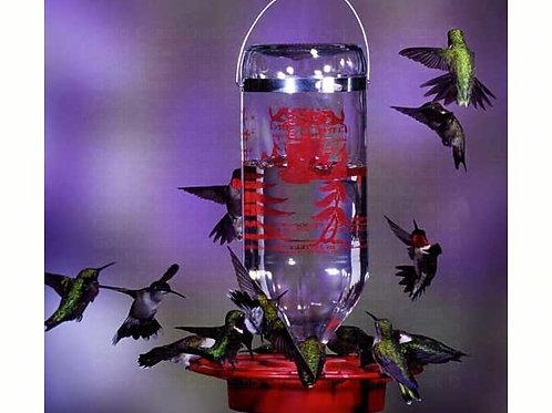 Classic Bottle 32oz Hummingbird Feeder