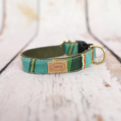 Turquoise Serape Stripe Collar