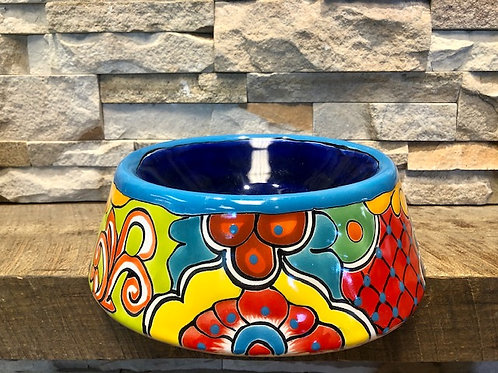 Talavera Dog Bowl