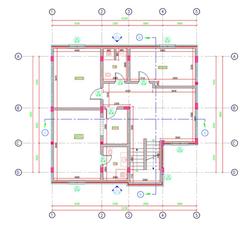 Villa First Floor Plan