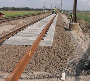 Rail Ballast Stabilisation