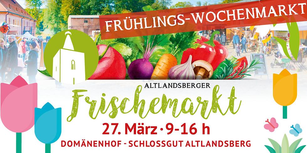 Frühlings-Wochenmarkt