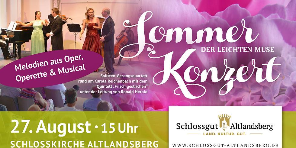Sommerkonzert der leochten Muse