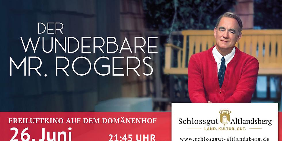 """Freiluftkino: """"Der wunderbare Mr. Rogers"""""""