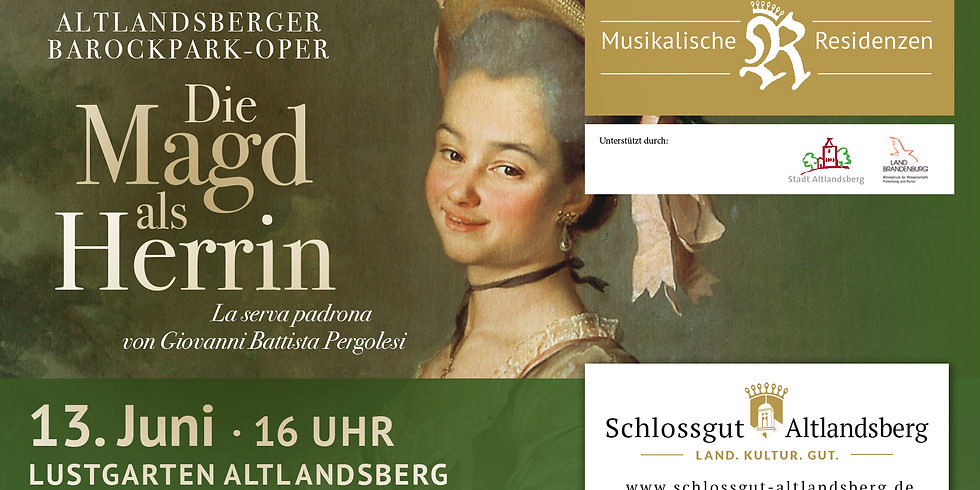 Die Magd als Herrin – Barockpark-Oper