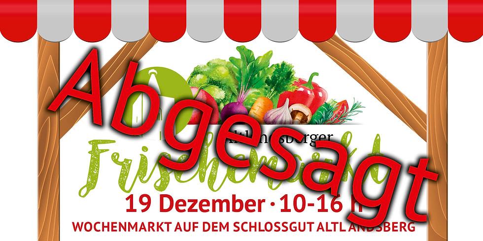 Altlandsberger Wochenmarkt ABGESAGT!