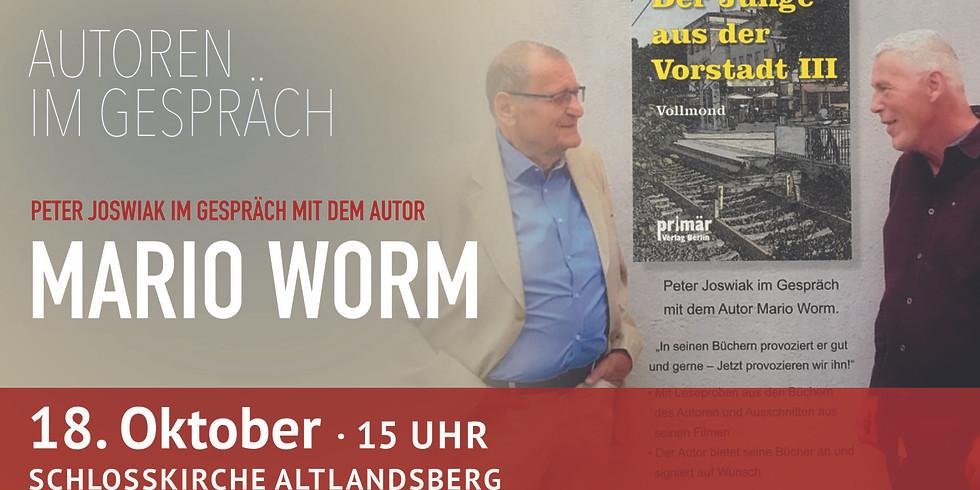 Autoren im Gespräch: Mario Worm