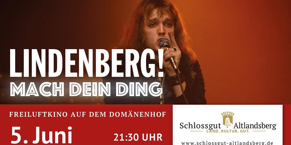 """Freiluftkino: """"Lindenberg - mach Dein Ding"""""""
