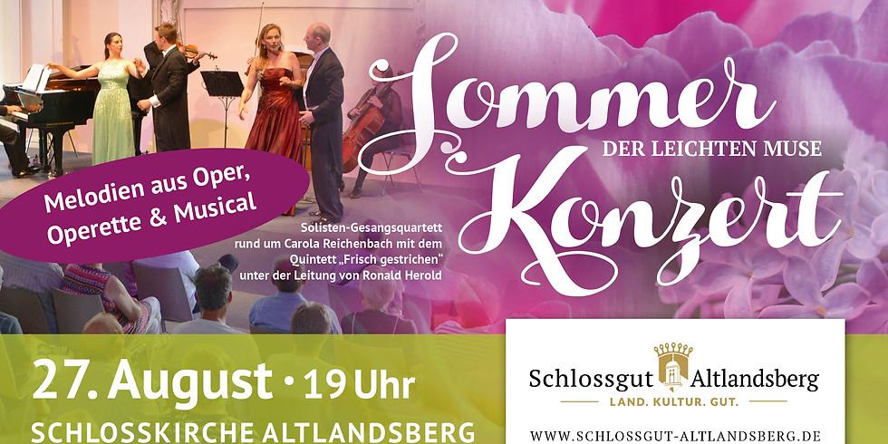 Sommerkonzert der leichten Muse