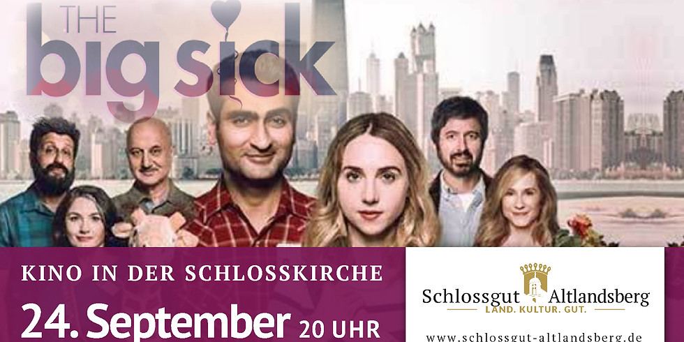 "Kino in der Schlosskirche: ""The Big Sick"""