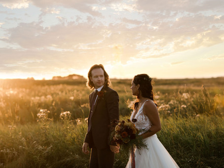 Harvest Moon Elopement Styled Shoot