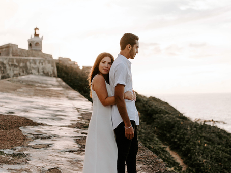 ISAIAH & BECA'S SUNSET ENGAGEMENT