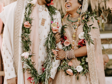 AMANDA & KYLE'S INDIAN BOHO WEDDING