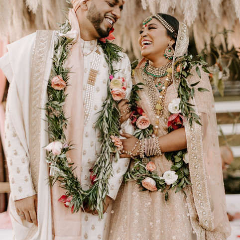 AMANDA & KYLE'S INDIAN BOHO WEDDING