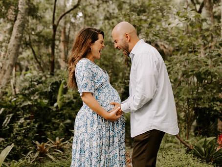 SARAI + JOSH'S FOREST MATERNITY SESSION