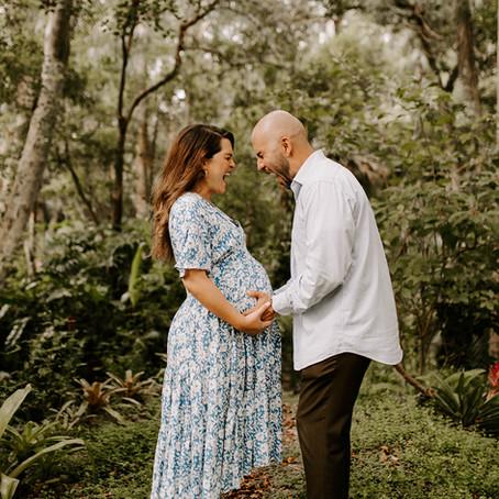SARAI + JOSH'S FOREST MATERNITY SESSION