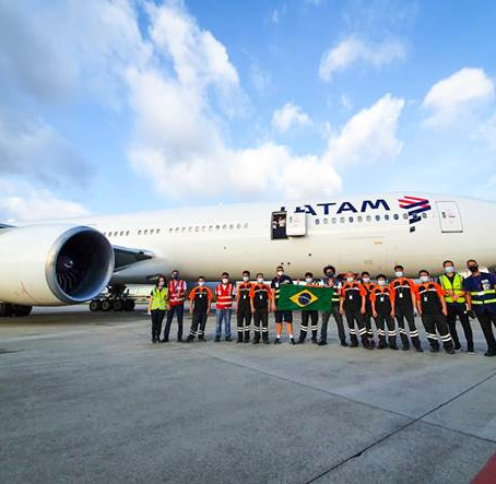 LATAM Brasil conclui e faz balanço da megaoperação de 45 voos China-Brasil no combate à COVID-19