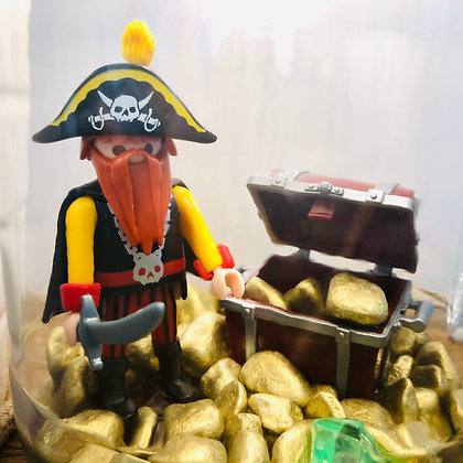 """La lampe Bobocal """"Édouard, le pirate"""""""
