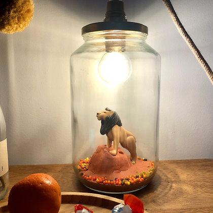 """La lampe Bobocal  de Clarence """"le lion"""