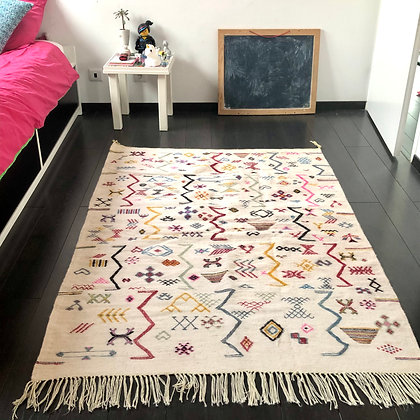 Le tapis Zig-zag (100% laine)