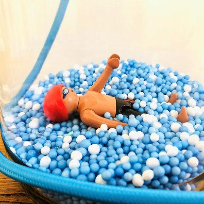 """La lampe Playmobil© """"Jean, le nageur"""""""