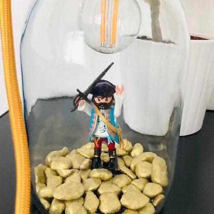 "La lampe Bobocal d'Edouard, ""le Pirate"""