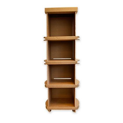 "Bibliothèque ""durable"" en carton"