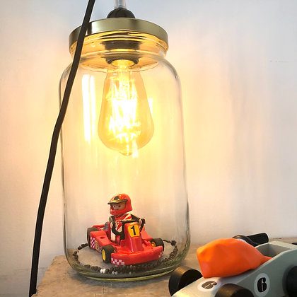 """La lampe Bobocal de Baptiste, """"le pilote de Karting"""""""