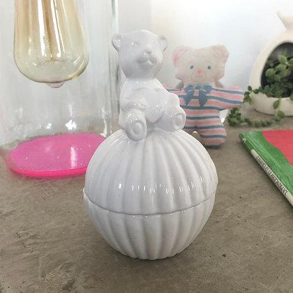 """La boîte en porcelaine """"Le petit Ourson"""""""