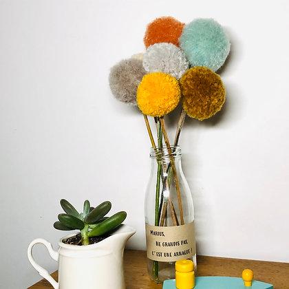 Le bouquet de pompons d'Automne