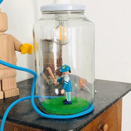 """La lampe Bobocal de John """"le Baseballeur"""""""