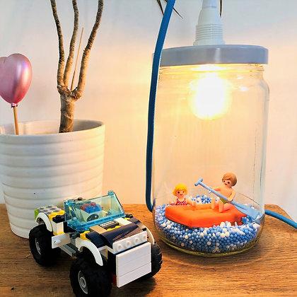 """La lampe bobocal """"Jouons dans les vagues!"""""""