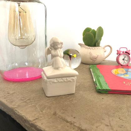 """La boîte en porcelaine """"Mon petit Ange"""""""