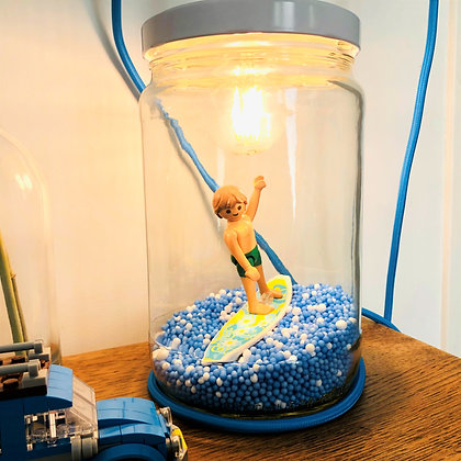 """La lampe Playmobil© """"Sam, le surfeur"""""""