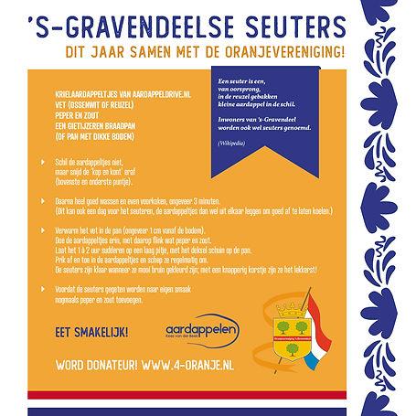 Traditionele recept 's-Gravendeelse seuters