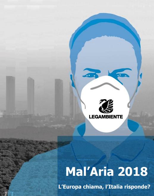 Rapporto di Legambiente sull'inquinamento atmosferico nelle città italiane - 29 gennaio 2018