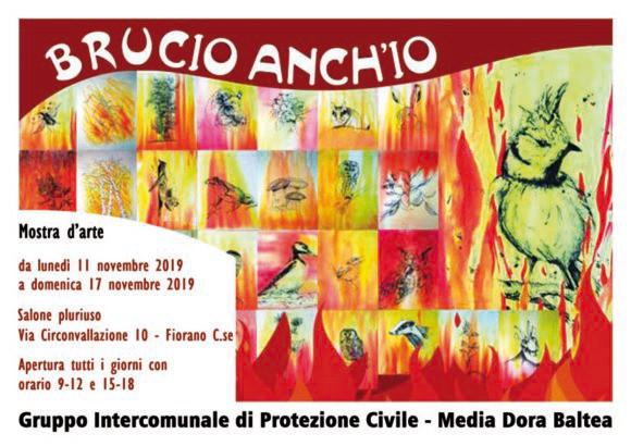 Brucio anch'io - Mostra d'arte (dall'11/11 al17/11)