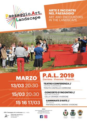 PAESAGGIO.ART.LANDSCAPE - PAL 2019 | 13 - 17 marzo