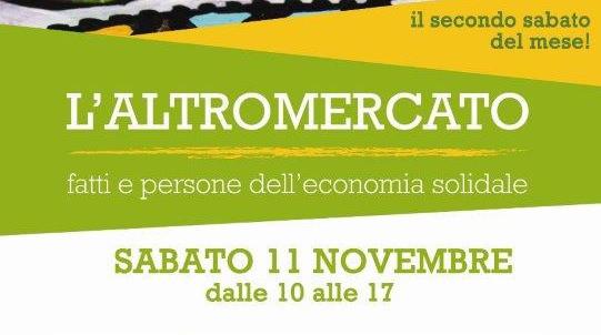 11 Novembre -All'Altromercato rinnova la tessera Legambiente Dora Baltea