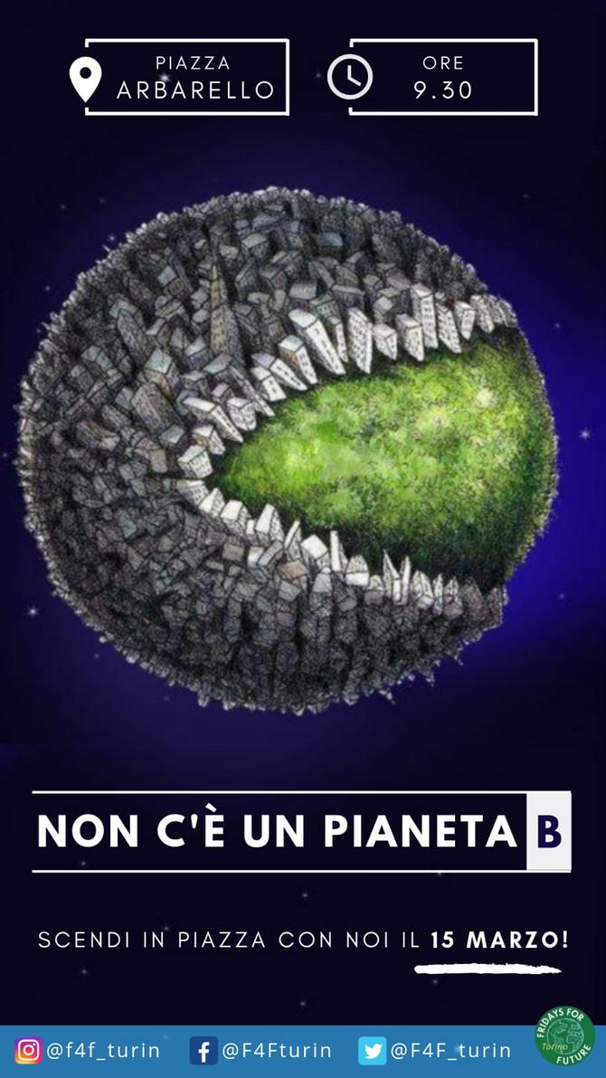 Fridays for Future | 15 marzo h 9.30 - Torino