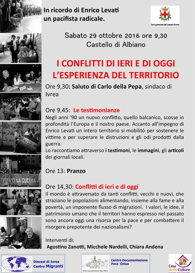In ricordo di Enrico Levati, un pacifista radicale