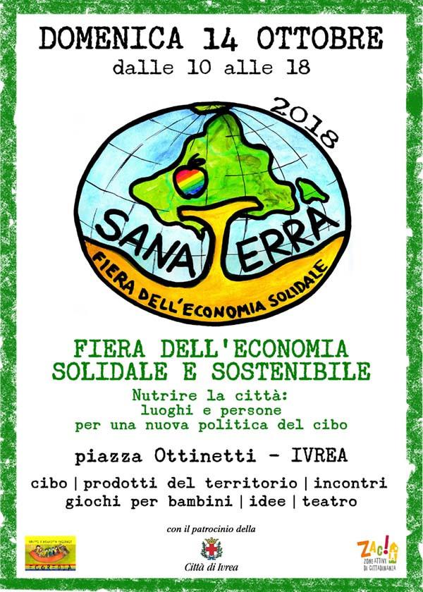 ritorna SANA TERRA | La fiera dell'economia mondiale