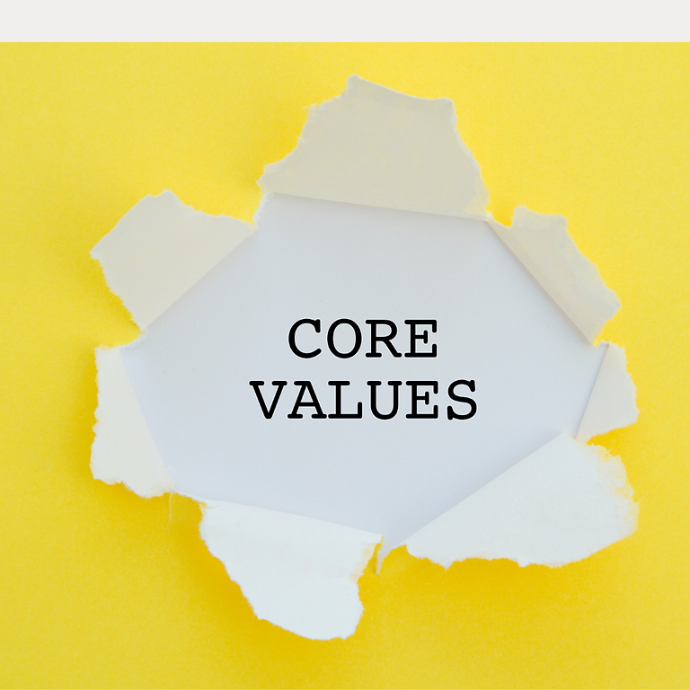 Defining Your Core Values: An Online Workshop