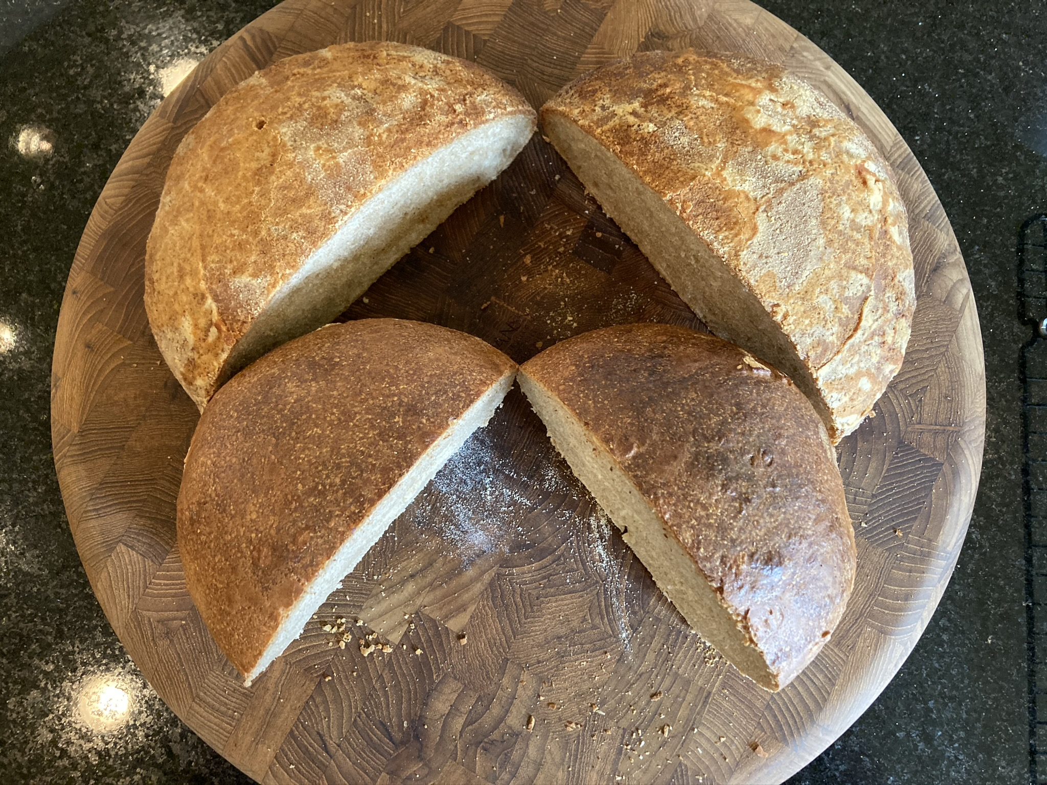 Wheat & White Sourdough