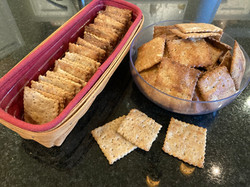 Crisp Wheat Crackers