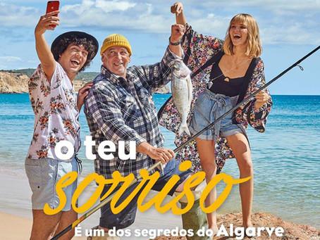 """PT - Campanha """"O teu sorriso é um dos segredos do Algarve"""""""