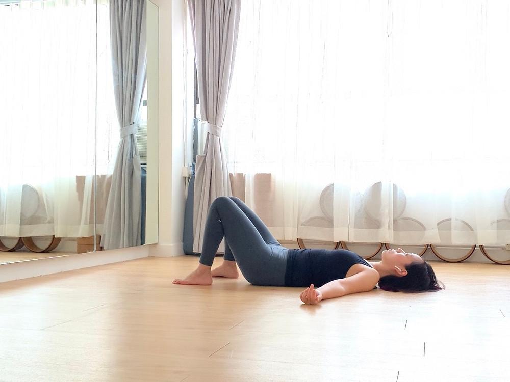 shavasana, yoga studio