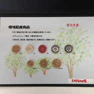 Trim Button Cellulose from recycled wood