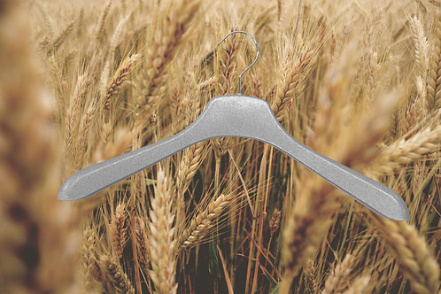 Hanger made from wheat waste + BPAT and PLA
